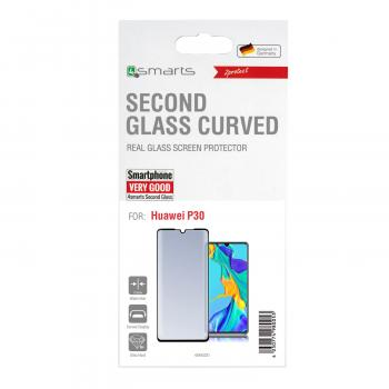 4smarts Second Glass Curved 3D für Huawei P30, schwarz