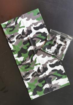 Multifunktionstuch - Hochwertige Sturmhaube als Wärm- und Schutztuch - Halstuch, Face Shield, Gesichtsmaske No.7